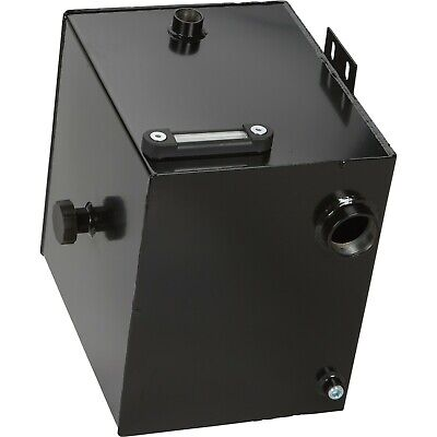 "7 Gallon Steel Hydraulic Oil Tank - 2"" Suction Port, 1"" Return Port - INDUSTRIAL"