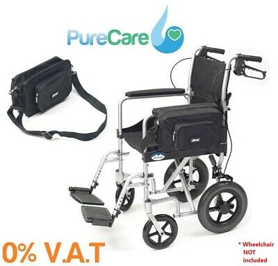 ABLE2 Splash Mobility Wheelchair Bag Storage Shopping Water Proof