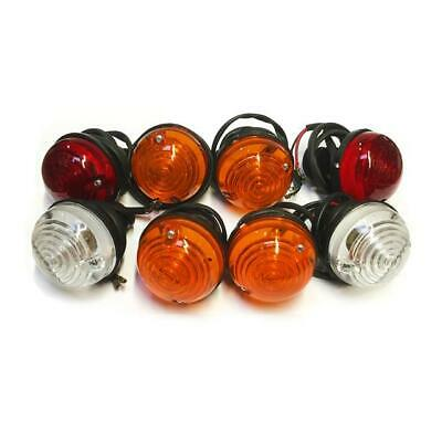 Land Rover Defender Series Classic Car Side Indicator Stop, Tail Light Lamp Set