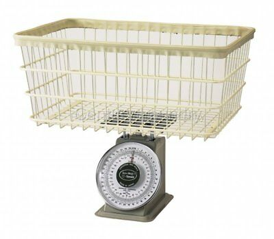 Analog Laundry Scale 40 lb. with Wire Basket NEW IN BOX