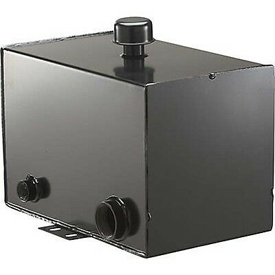 "10 Gallon Steel HYDRAULIC OIL TANK - 2"" Suction Port, 1"" Return Port COMMERCIAL"
