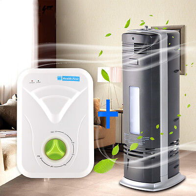6in1 Ozone Carbon Ionic Air Purifier Ioniser Freshener Cleaner + Lon Ozonizer CE