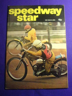 SPEEDWAY STAR - 11 May 1974