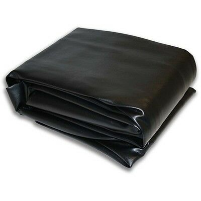 "9M Black Hood Fitted Pool Table Cover -  62""x112"""