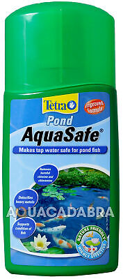 Tetra Pond Aquasafe Water Tap Conditioner Fish 250Ml