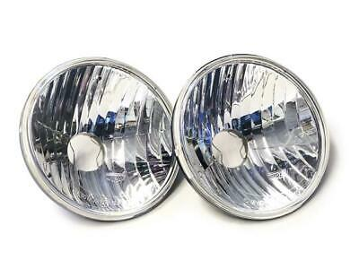 Land Rover Defender RHD Wipac Crystal Halogen SVX Style Head Lamps - RTC4615CW