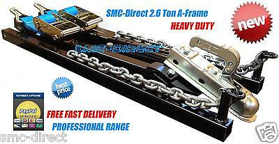 SMC Car Towing A Frame 2.6Ton Recovery Dolly Trailer Heavy Duty Professional NEW