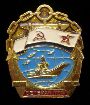Russia Navy Military Badge Medal Award Naval Order Pin USSR Army Enamel Medal