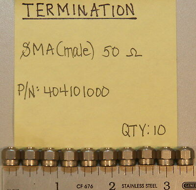 (10) SMA(Male) Terminations Radiall 404101000