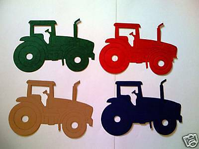 Tractor Die Cuts/Toppers