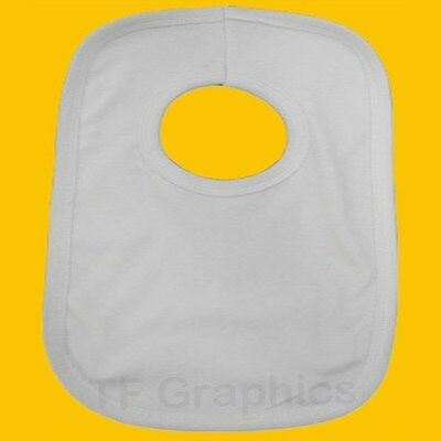 Design your Own Custom Baby Bib! -  Personalised Double Layered Pull Over Bibs