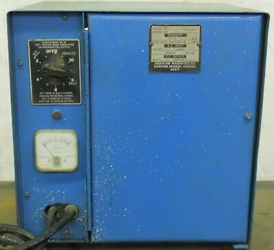 Industrial Battery Charger, Fl6-510, Capacity 6 Cells, 230V, 400A, 1Ph, 60Hz