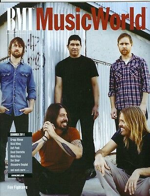 Foo Fighters cover BMI Music World 2011 MINT
