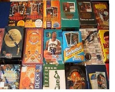 Great Lot of 200 OLD Unopened BASKETBALL Cards in Packs