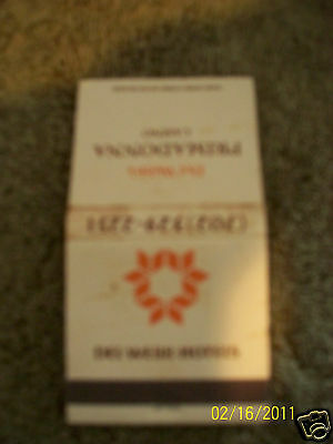 Primadonna Resort & Hotel Unused Matchbook Reno Nv.