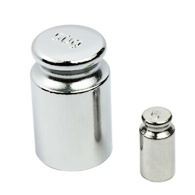 Horizon Chrome 50g Calibration Weight with Free 5 gram Test Weight