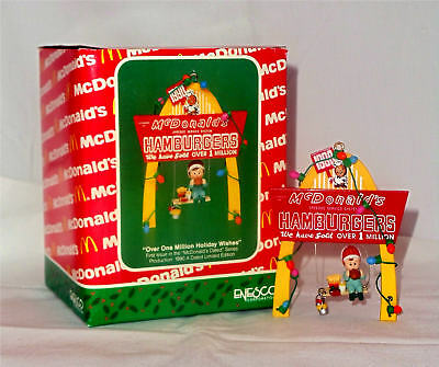 Enesco Ornament 1990 Over One Million Holiday Wishes - McDonalds - #577553