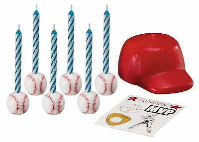 Football Decal Candle Set from Wilton 8424