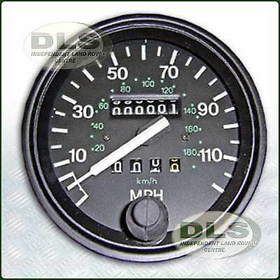 Speedometer Assembly MPH Land Rover Defender to VIN WA159806 OEM (PRC7373)