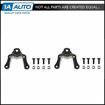 Rear Shackle Bracket Repair Kit Pair of 2 Set for Ford F350 Cab & Chassis