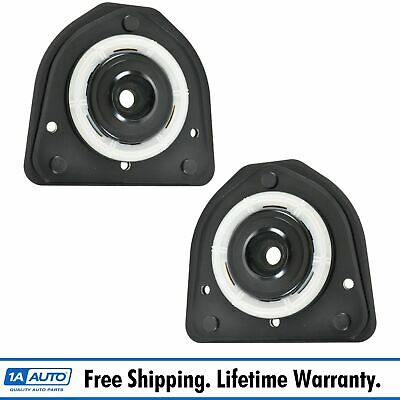 Front Upper Strut Mounts w// Bearings Pair Set for Buick Cadillac Olds Pontiac