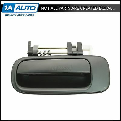 Black Rear Outer Outside Exterior Door Handle Driver Side Left LH for Camry