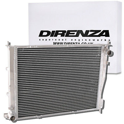DIRENZA 42mm ALUMINIUM RADIATOR RAD FOR RENAULT CLIO MK3 197 200 2.0 16V 06-11