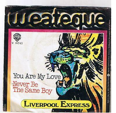 """Liverpool Express """"you Are My Love""""  7"""""""