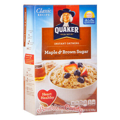 1x 430g Quaker Oatmeal Maple & Brown Sugar (20,91€/kg)
