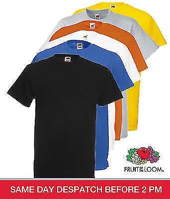 Fruit of The Loom Men's Heavy Cotton T - Shirt