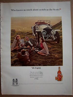 1964 Haig & Haig Scotch We English scots Ad