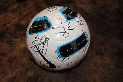 West Bromwich Epl Signed Soccer Premier Nike Ball