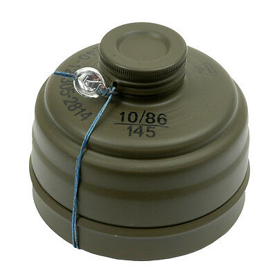 Surplus Drager 40 mm NBC Gas Mask Filter Canister