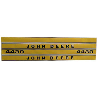 JD419 Hood Decal Set Kit For John Deere Tractor 4430