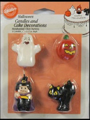 Halloween Candles and Decorations from Wilton - NEW