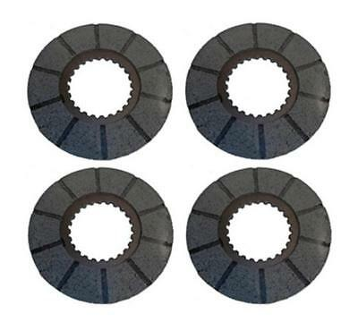Four (4) Brake Discs for Case Tractors 400RC 730 830 930 1030.