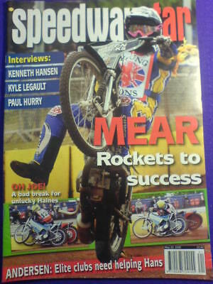 SPEEDWAY STAR - PAUL HURRY - 23 May 2009