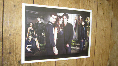 The Vampire Diaries Great 2011 Cast POSTER
