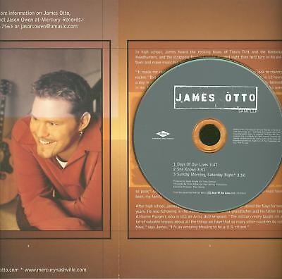 James Otto PR0M0TIONAL brochure and CD