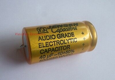 JENSEN Hi voltage electrolytic capacitor 40uf 500V