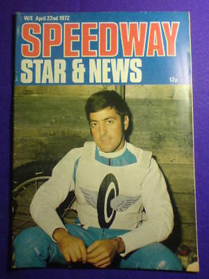 SPEEDWAY STAR AND NEWS - 22 April 1972