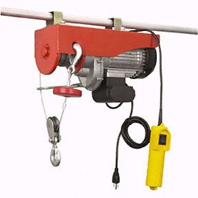 440Lb Electric Motor Overhead Garage Hoist Crane Lift