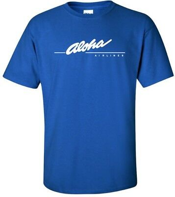 Aloha Airlines Vintage Logo Hawaiian Airline T-Shirt