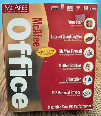 McAfee Office Software ME Total Protection for Your PC