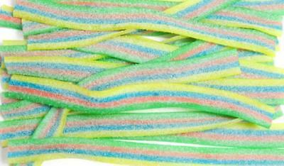 200g Vidal Rainbow Strips Wholesale RETRO SWEETS CANDY