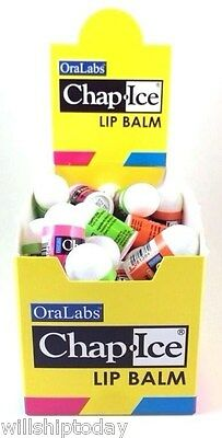 50 Oralabs Mini Chap Ice Lip Balm Assorted Flavors