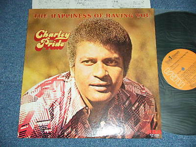 CHARLEY PRIDE  Japan 1976 NM LP THE HAPPINESS OF HAVING