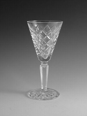 """WATERFORD Crystal - TYRONE Cut - Sherry Glass / Glasses - 5 1/2"""""""