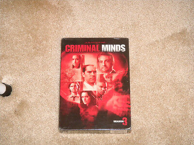 Criminal Minds - The Complete Third Season DVD New SEALED