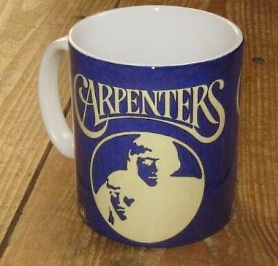 The Carpenters Promotion Advertising Mug Blue